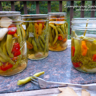 Crisp & Spicy Pickled Green Beans