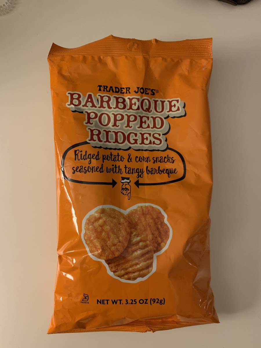 Barbeque Popped Ridges