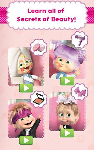 Masha and the Bear: Hair Salon and MakeUp Games 1.1.8 screenshots 16