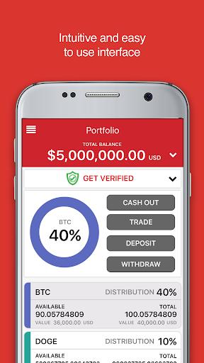 ANX Vault: Your Bitcoin Wallet screenshots 2