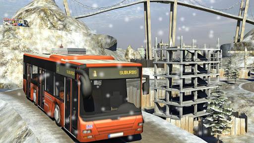 Snow Hill Bus Drivingsimulator 1.2 screenshots 11
