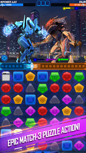 Pacific Rim Breach Wars - Robot Puzzle Action