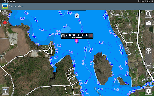 Aqua Map Connecticut Lakes GPS- screenshot thumbnail