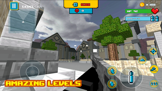 Block Ninja Mine Games - náhled