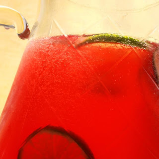 Virgin Pomegranate-Lime Rickey