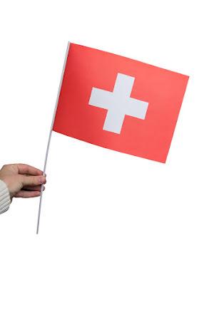 Pappersflagga, Schweiz