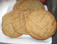 Peanut Butter Cookies For  Dozen (12)