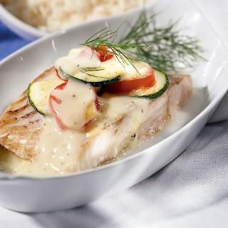 Fisch-Gratin mit Gemüse