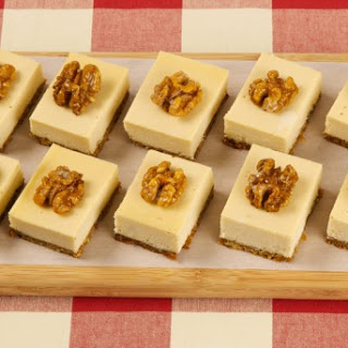 Maple Walnut Cheesecake Squares CBC Best Recipes Ever