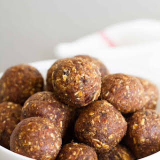 Peanut Butter Chocolate Energy Balls.