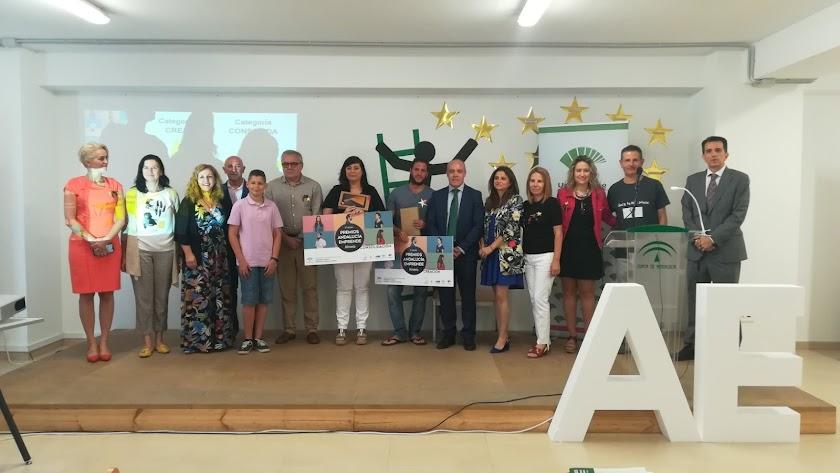 Entrega de premios de Andalucía Emprende.