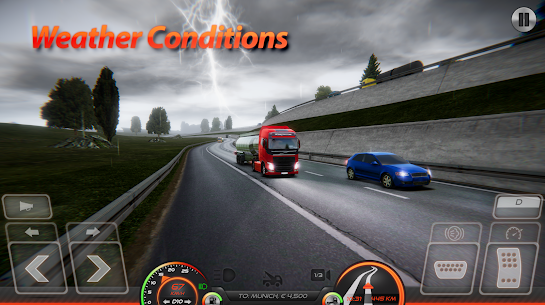Truck Simulator : Europe 2 MOD Apk (Unlimited Purchases) 2