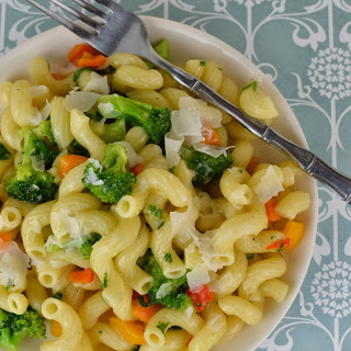 Broccoli and Sweet Pepper Pasta.