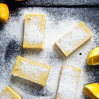 Vegan Lemon Bars.