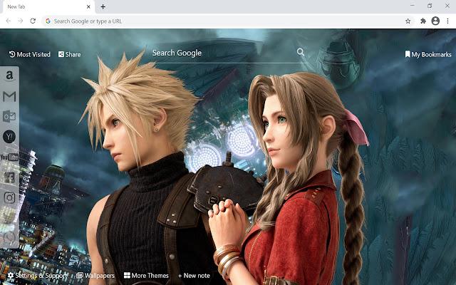 Final Fantasy 7 Remake Wallpaper