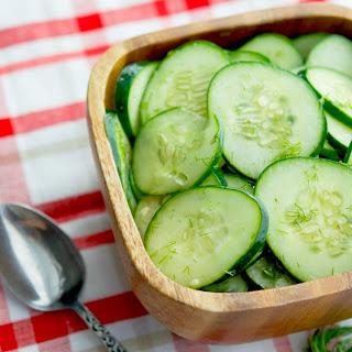 Dilled Cucumber Salad.