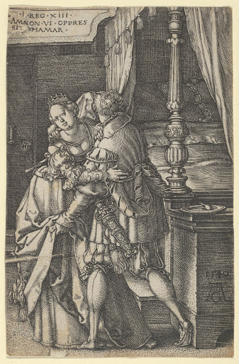 Amnon Violating Tamar, from The Story of Amnon and Tamar