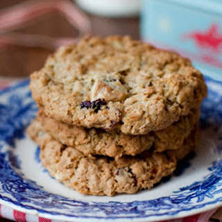 Cranberry And White Chocolate Cookies.