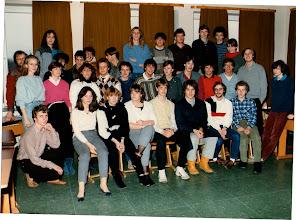 Photo: Klassen 13a und b (1983/84)