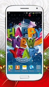 New Year Live Wallpaper HD screenshot 6