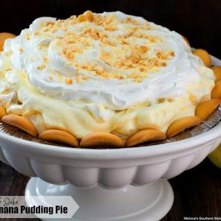 No-Bake Banana Pudding Pie.