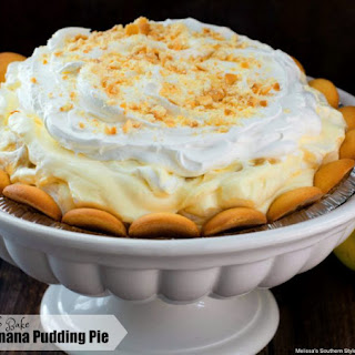 No-Bake Banana Pudding Pie.