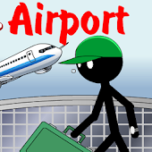 Stickman Kill in the Airport