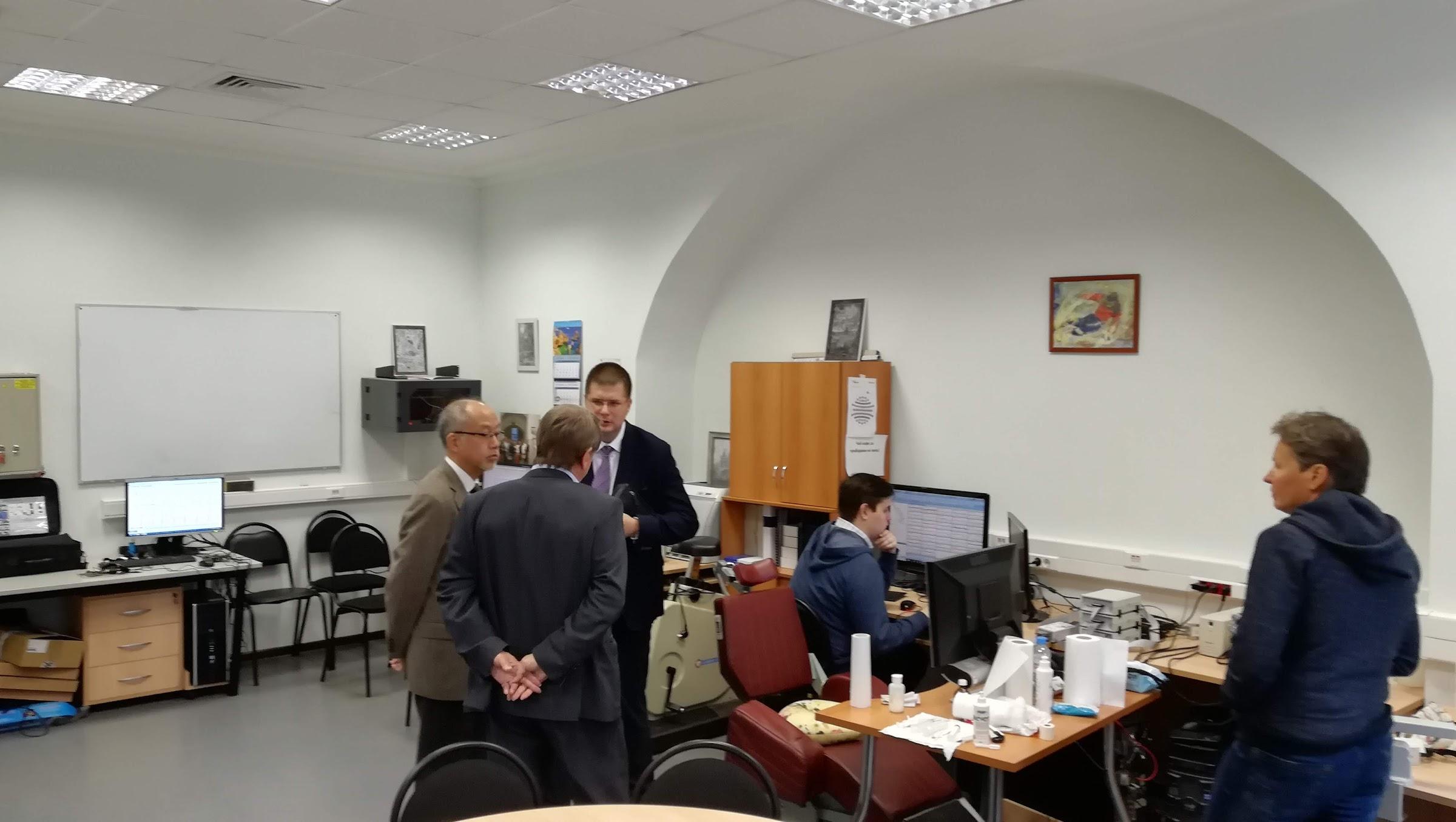 Факультет Психологии МГУ, делегация Японии