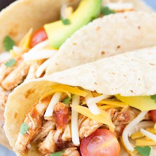 3-Ingredient Slow Cooker Taco Chicken