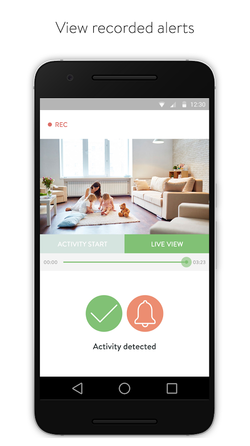 Cocoon -  Home security made simple.- screenshot