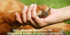 Declaración Universal de Derechos Animales