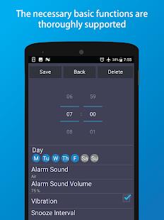 Simple Alarm - náhled