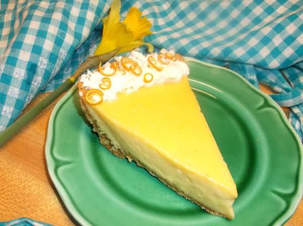 Meyer Lemon Pie Recipe