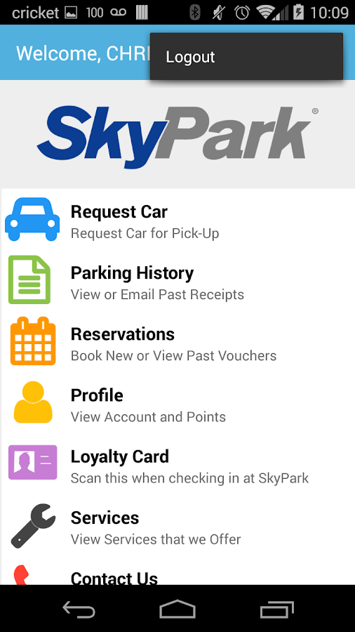 SkyPark- screenshot