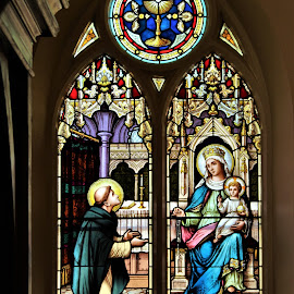 N.T. Lyon Stained Glass, Goderich, Ontario, Canada by Carl VanderWouden - Artistic Objects Other Objects