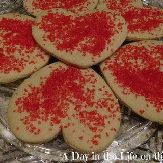 Cinnamon Heart Cookies.
