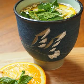 Orange Ginger Digestion Tea