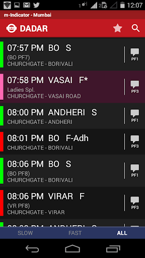 m-Indicator- Mumbai - Live Train Position screenshot 3