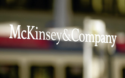 THE LEX COLUMN: McKinsey goes real with new store