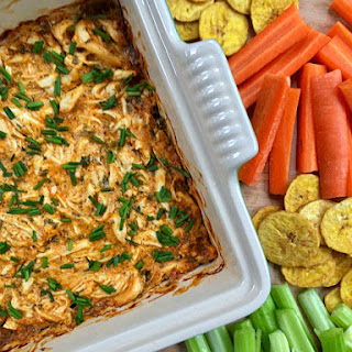 Dairy-Free Buffalo Chicken Dip.