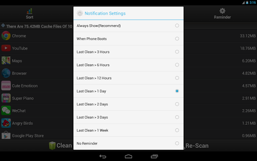 Clean Cache - Optimize Support Android 6.0 & 7.0 screenshot 16