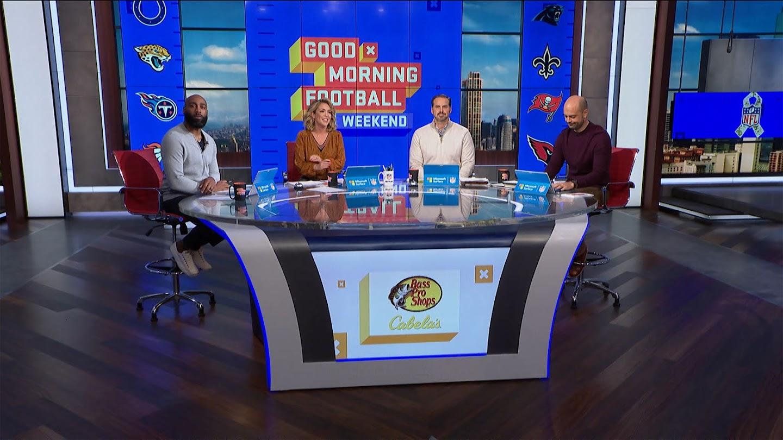 Watch Good Morning Football: Weekend live