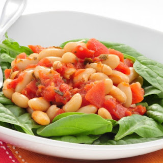 Slow Cooker Greek Beans.