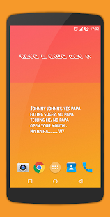 Simple Text Widget (Any Text) Screenshot