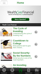 WealthCore Financial- screenshot thumbnail