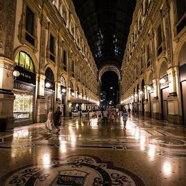 The Galleria Vittorio Emanuele II Milano by David Ramsay - Buildings & Architecture Architectural Detail