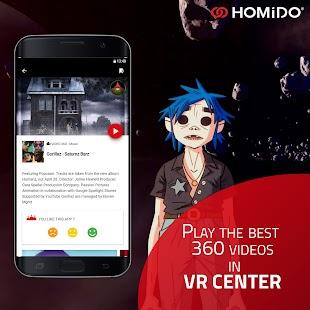 VR Center by Homido®  - Cardboard app - náhled