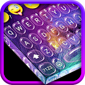 Water Bubble Keyboard Theme