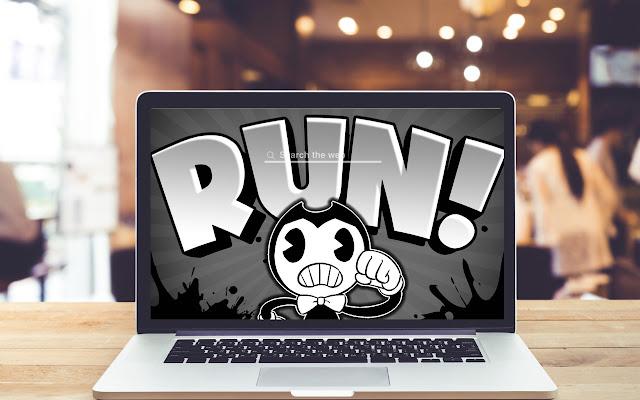 Bendy in Nightmare Run Wallpapers Game Theme