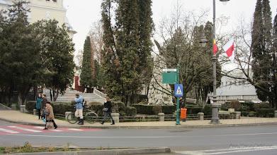 Photo: 2015.12.21 - Panou cu indicatie gresita. Nu exista Str. Republicii in Turda
